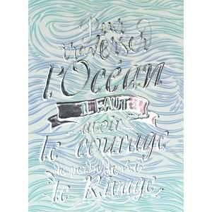 Carte postale Océan