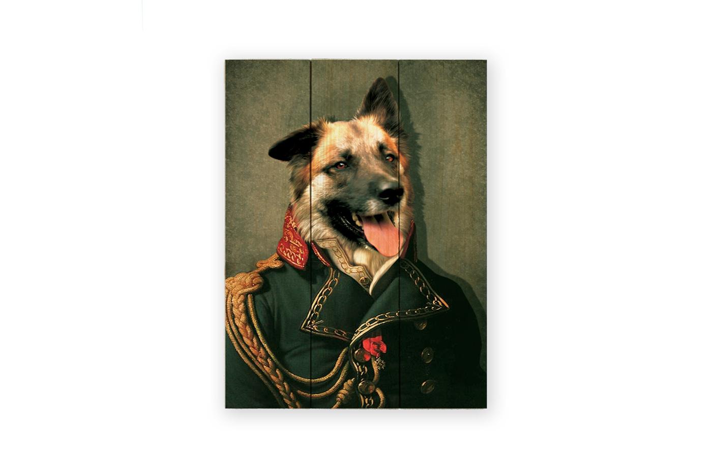 Portrait ancien sur bois 11 3650149006196