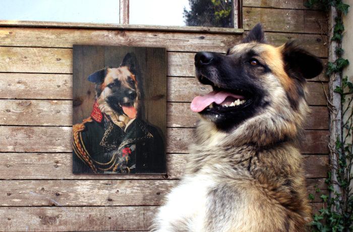 Portrait ancien sur bois 2 3650149006196