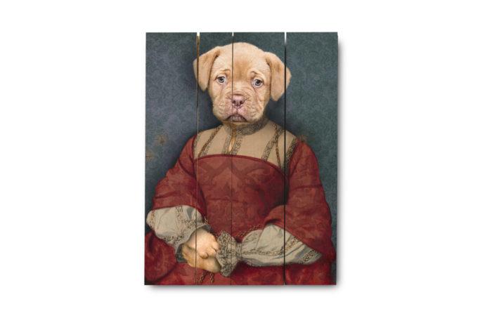 Portrait ancien sur bois 9 3650149006196