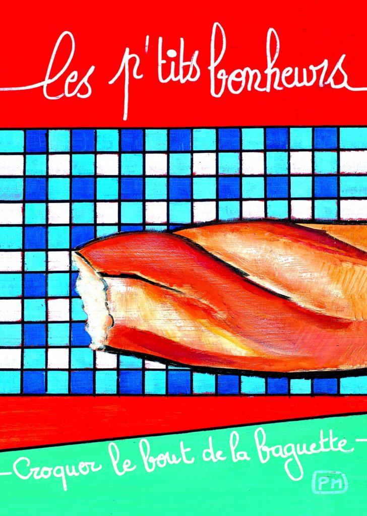 Carte postale Baguette