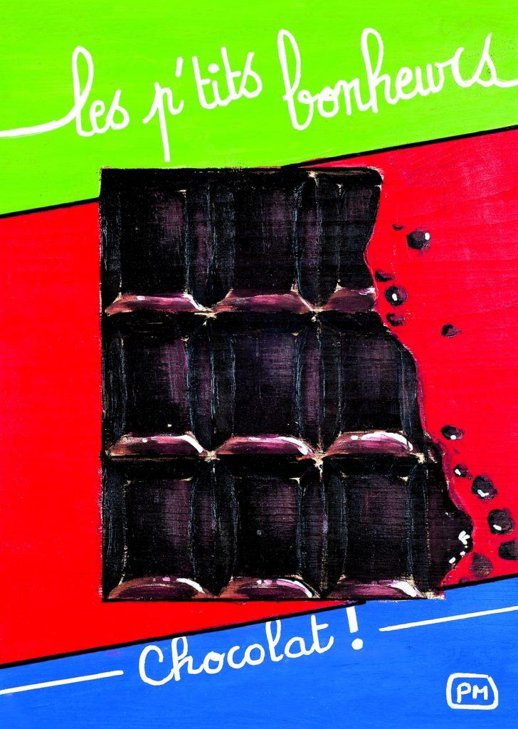 Carte postale Chocolat