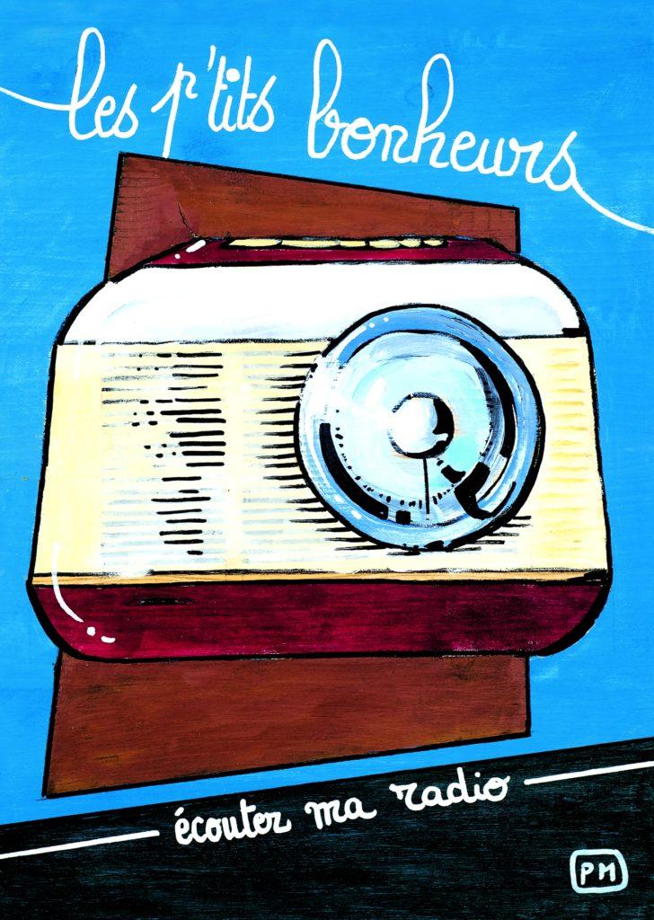 Carte postale Radio