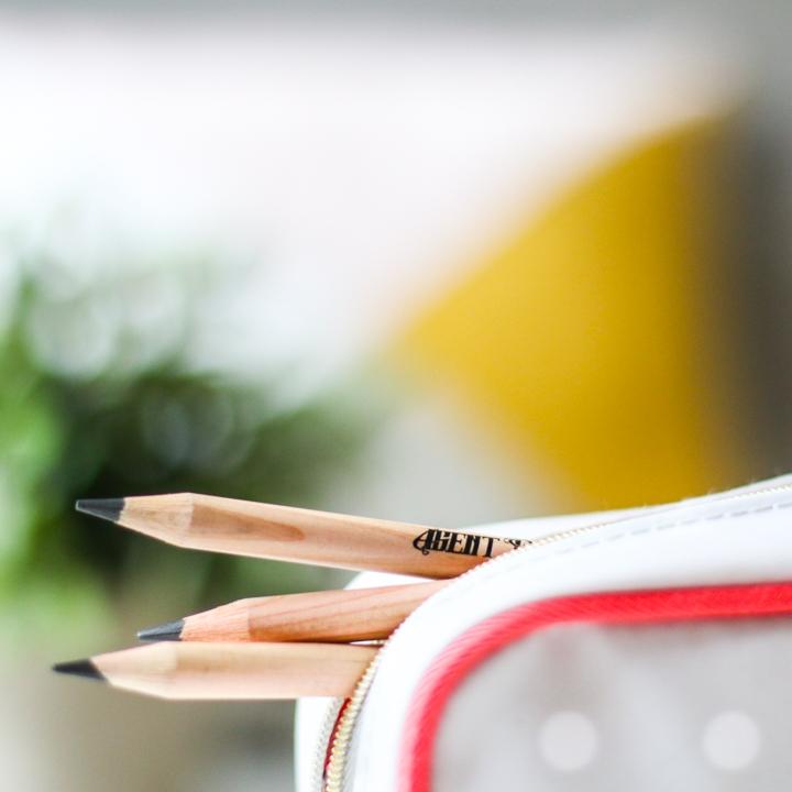 Crayon à papier en bois