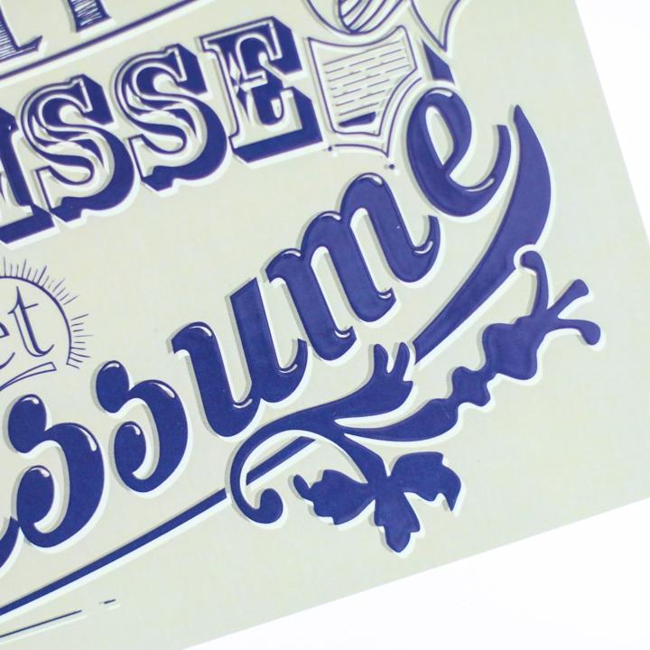 Poster Galette Saucisse