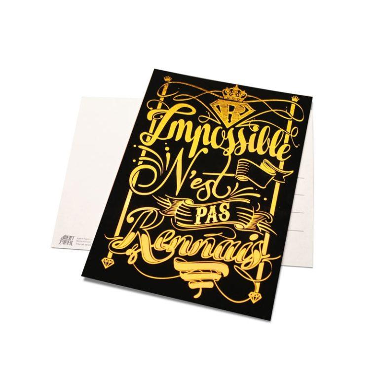 Carte postale Rennais
