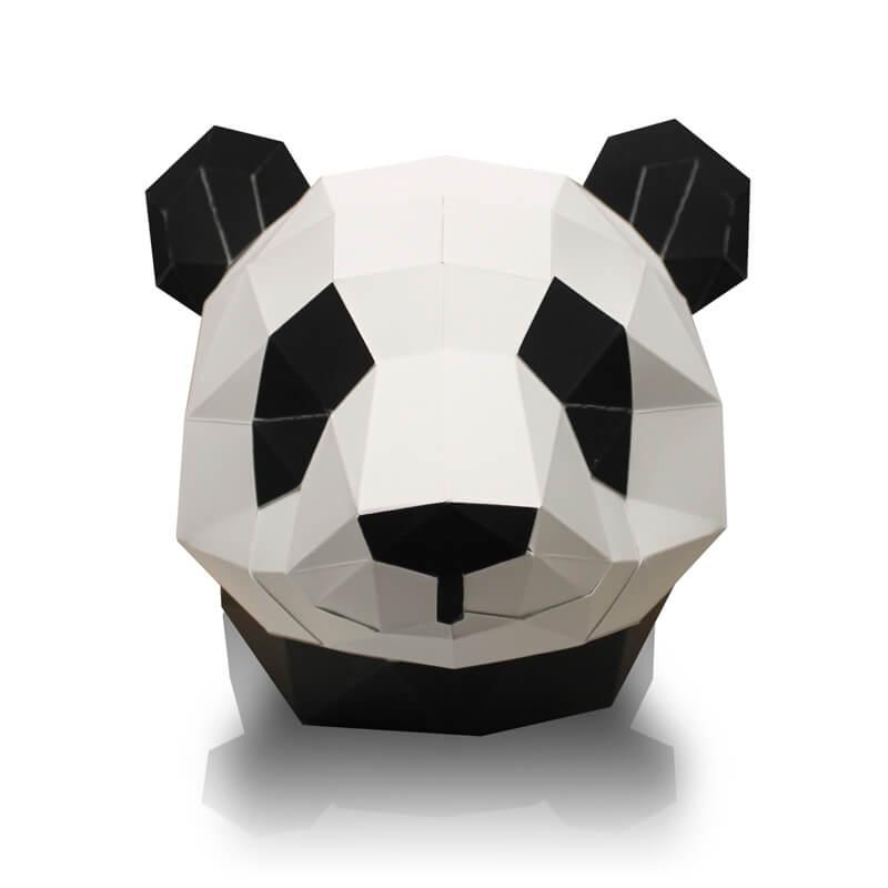 Panda en papier 3D
