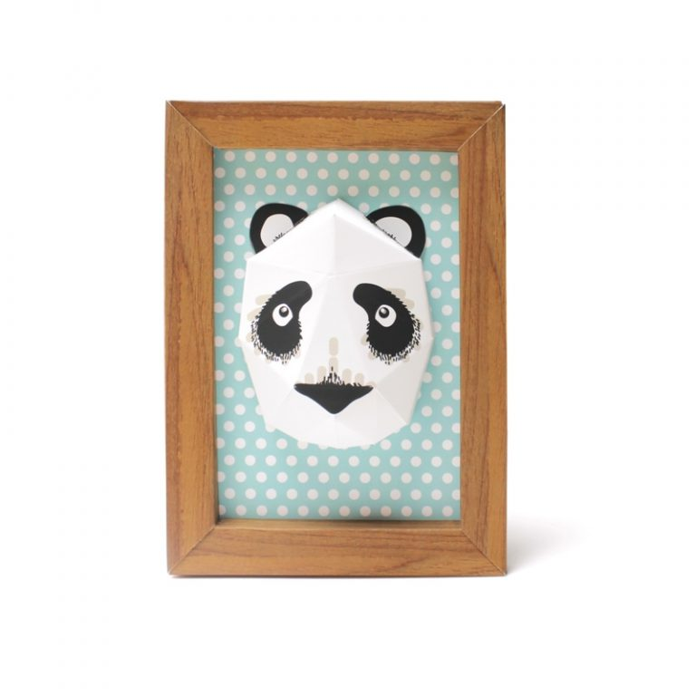 Mini panda trophy
