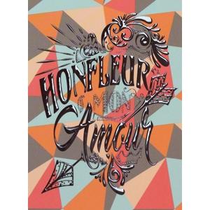 Carte postale Honfleur mon amour