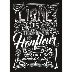 Carte postale Ligne 15 Honfleur
