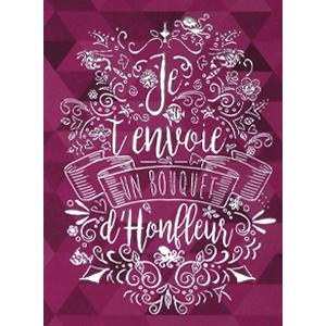 Carte postale Bouquet d'Honfleur