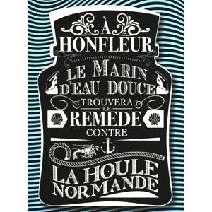 Carte postale Houle Normande