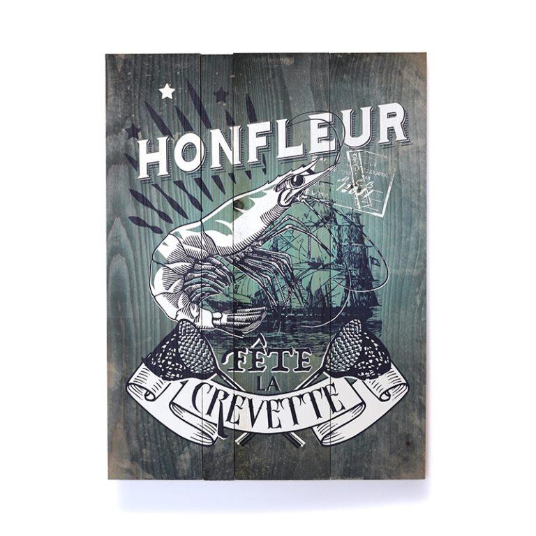 Tableau Crevette de Honfleur