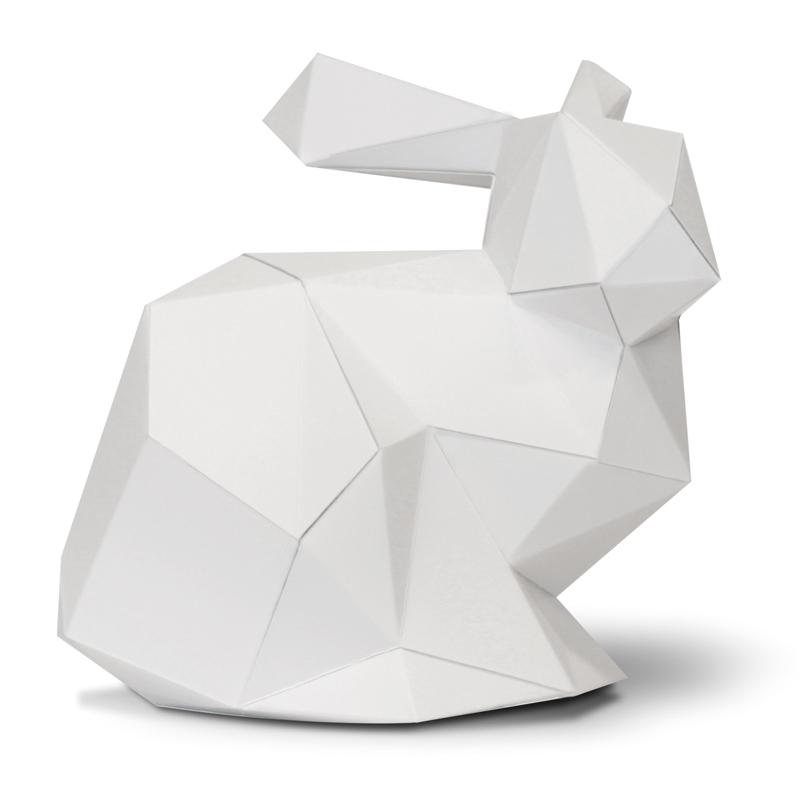 Lapin en papier 3D