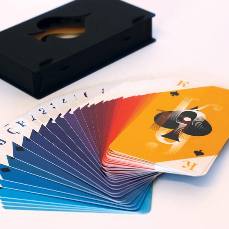 Jeu de cartes Royal - Boîte Pulp