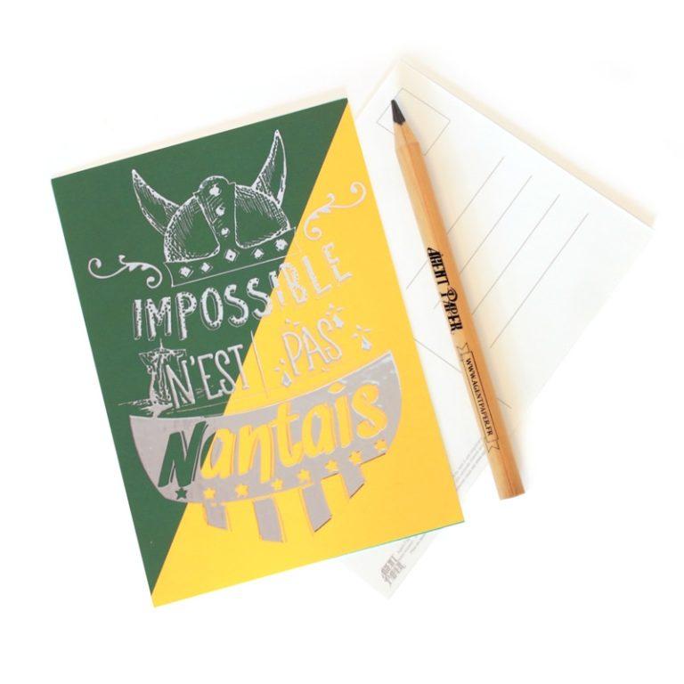 Carte postale Impossible Nantais