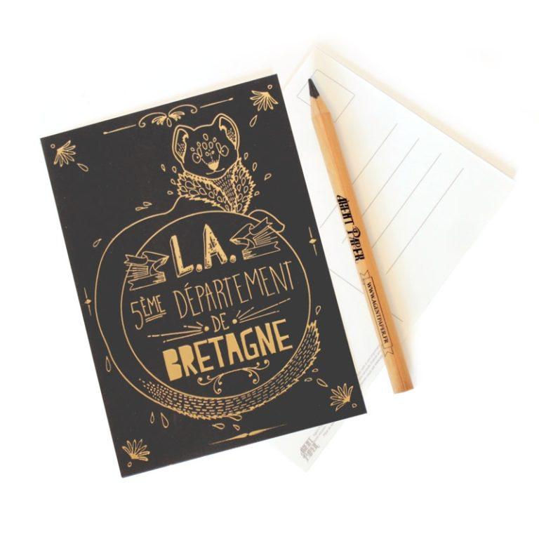 Carte postale Loire Atlantique