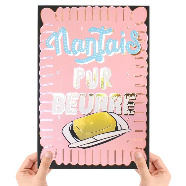 Affiche Petit Beurre