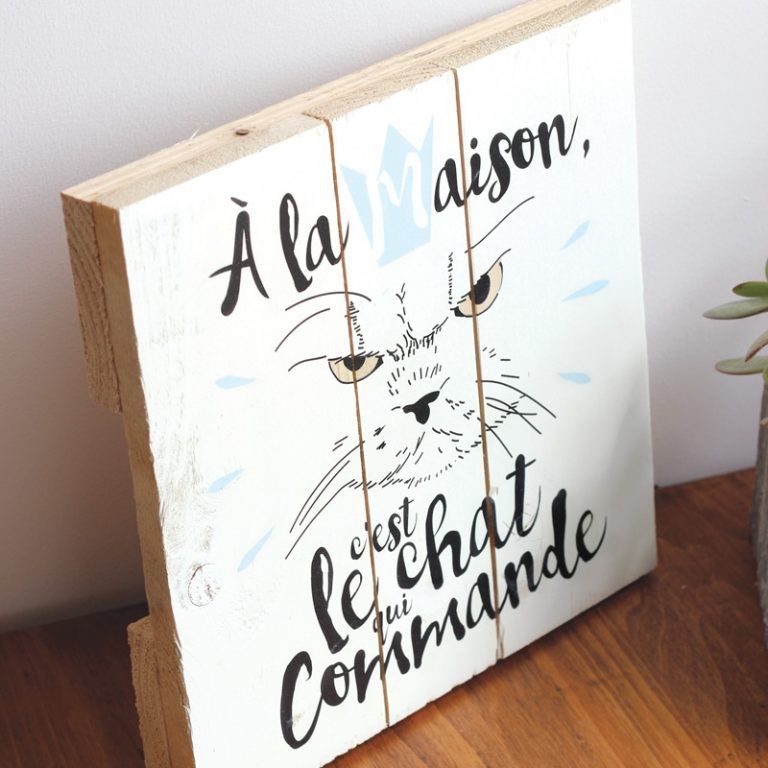 Tableau Chat Commandeur