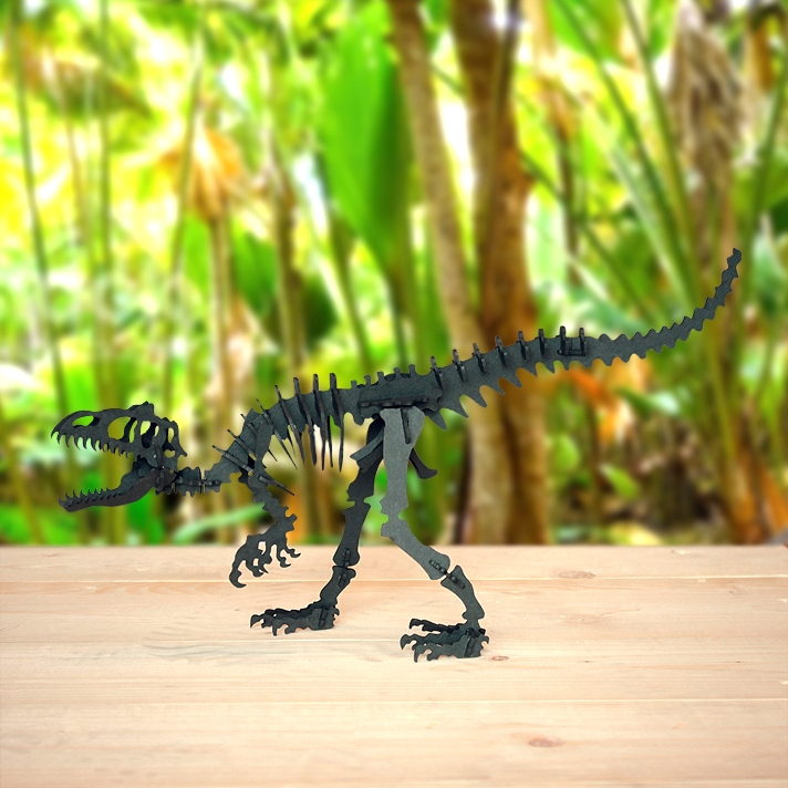 Cardboard tyrannosaurus