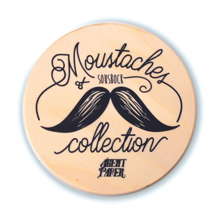 Sous Bock Moustaches