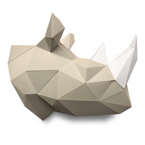 3D PAPER RHINO