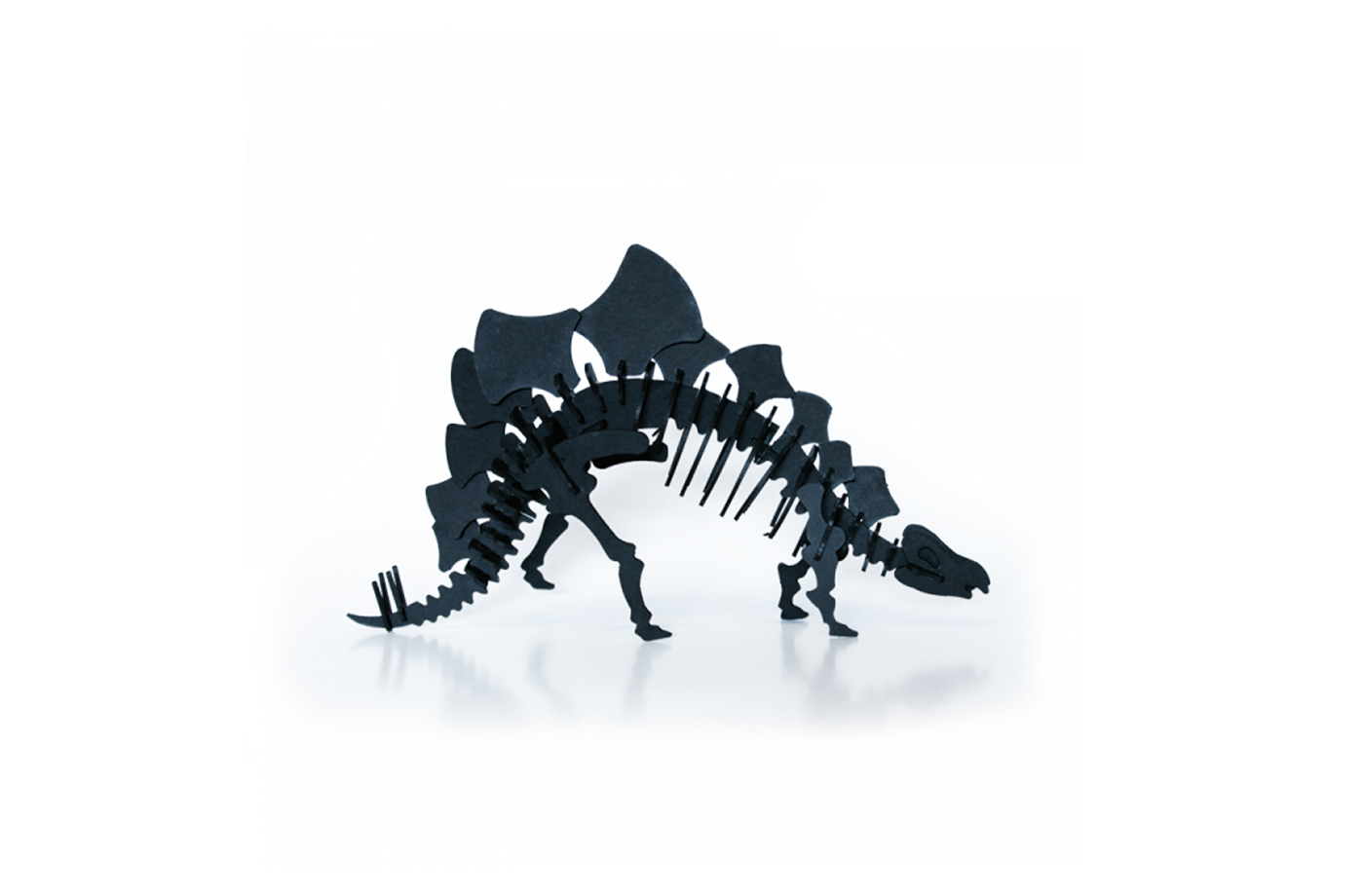 Stegosaurus en carton 2 2000000007007
