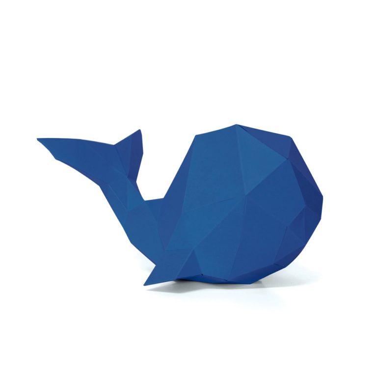 3D PAPER WHALE
