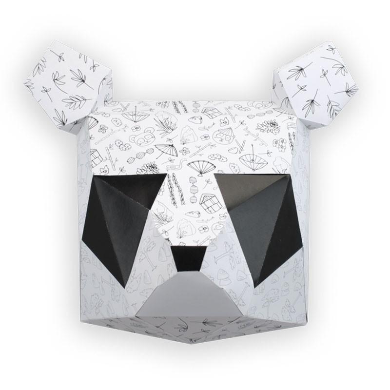 Trophée à colorier panda