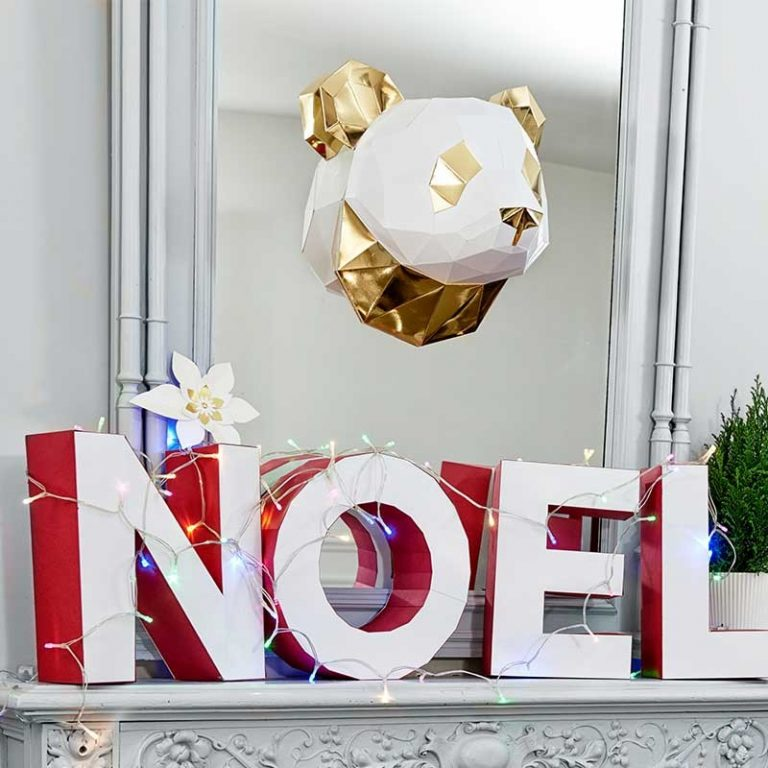 "Lettres ""NOEL"" lumineuses"