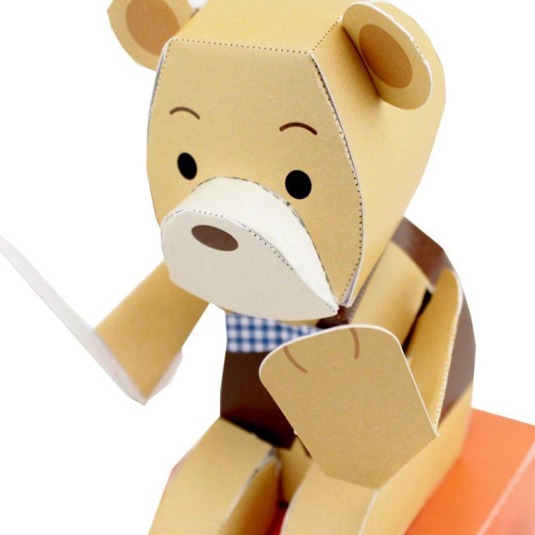 Coucou l'ourson - Keisuke