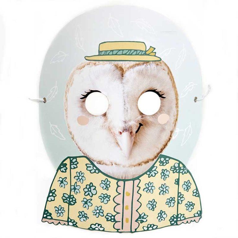 Owl pet pals mask