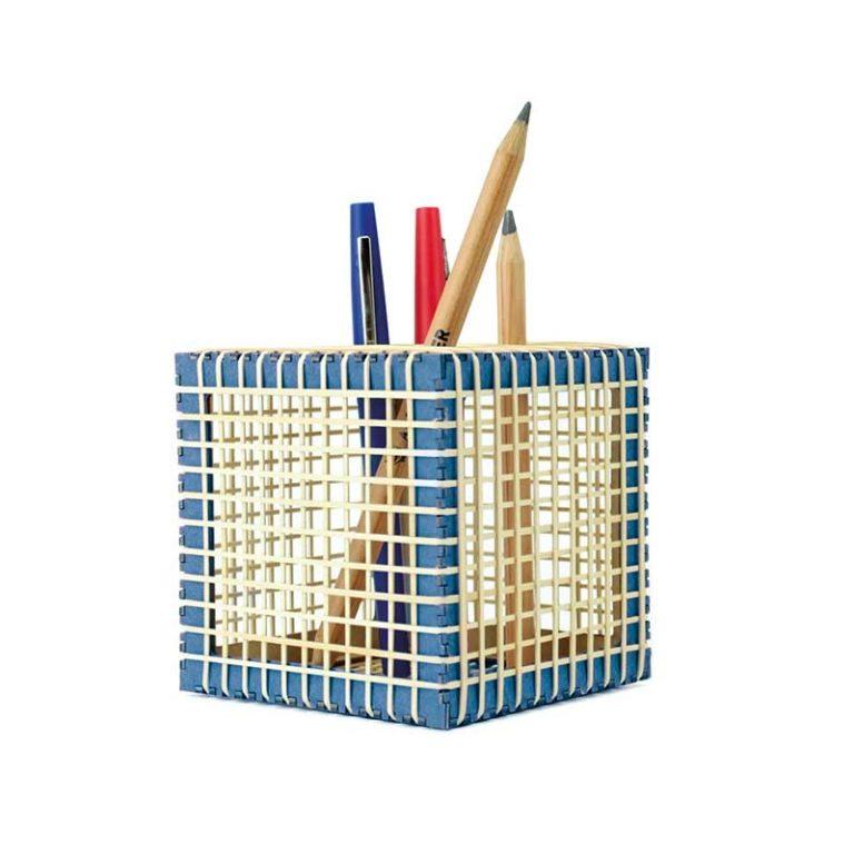 Pot à crayon élastique