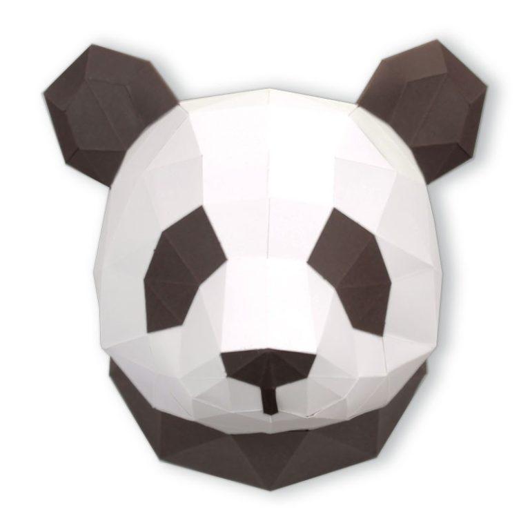Small 3D paper panda