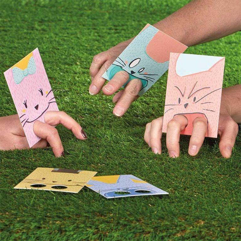 """Jeu de cartes """"enfants terribles"""""""