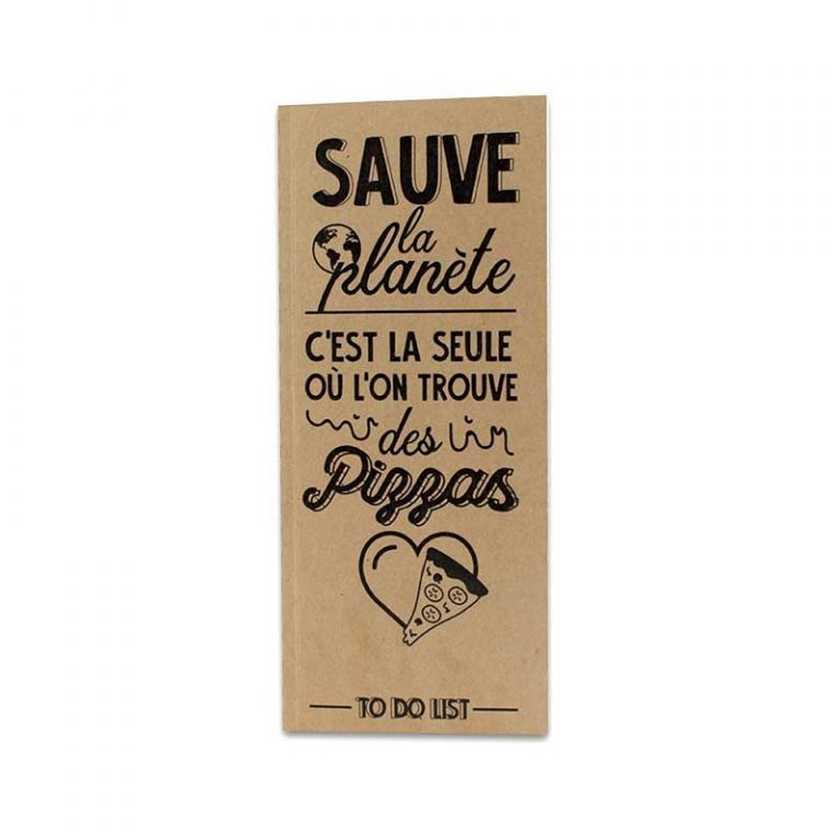 Carnet Sauve la planète
