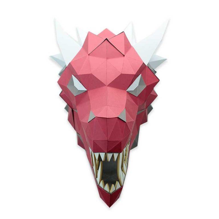 Dragon en papier 3D