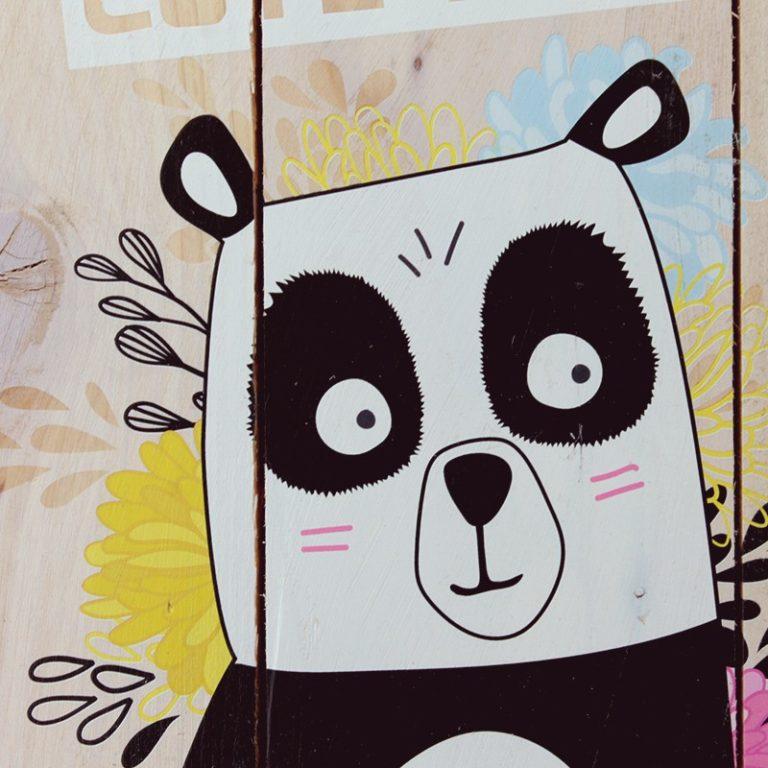 Tableau palette Panda