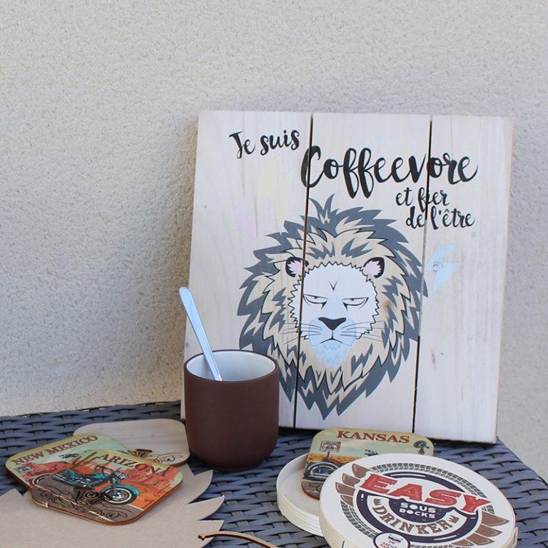 Tableau palette Lion