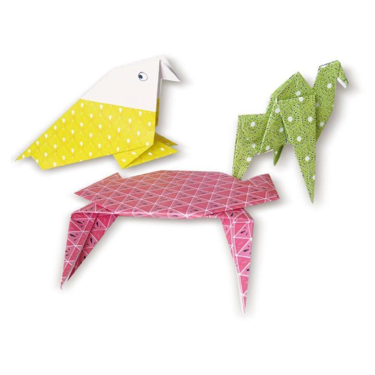 Tutti frutti origami kit