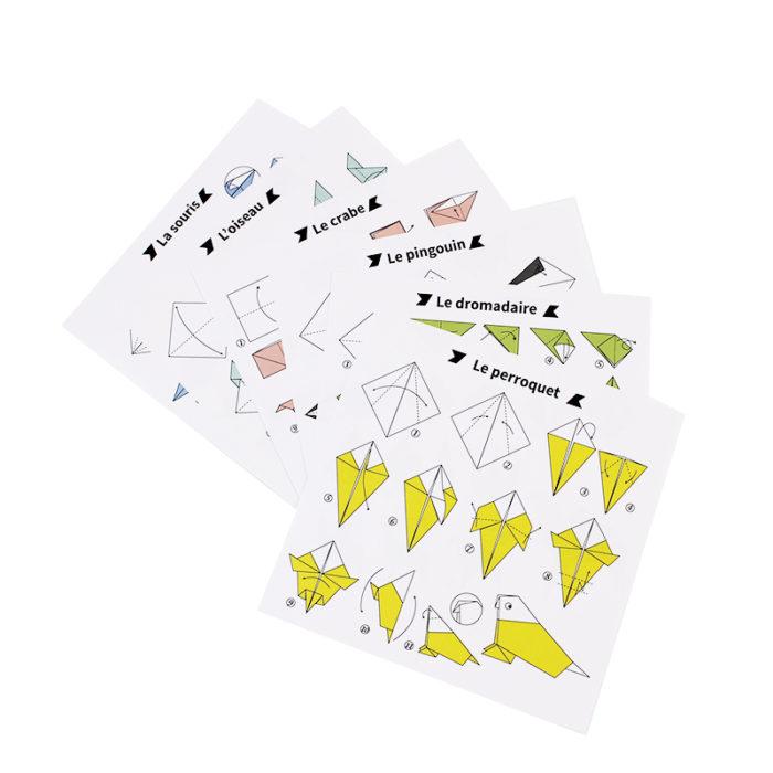 Kit origami Tutti frutti 3 3760271838036