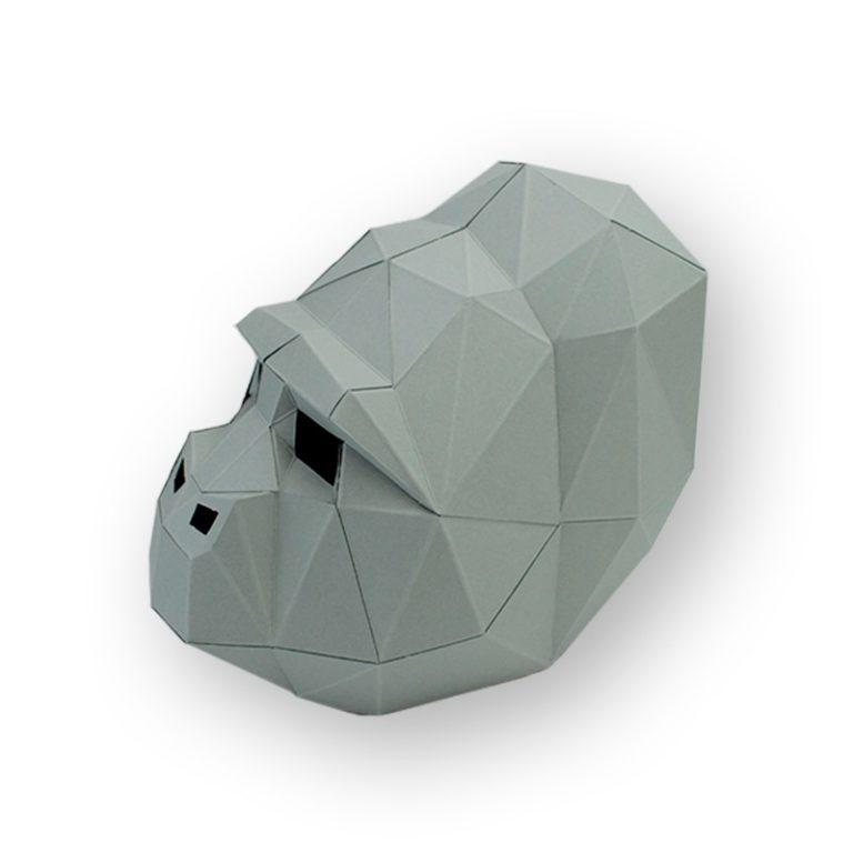 3D paper mask