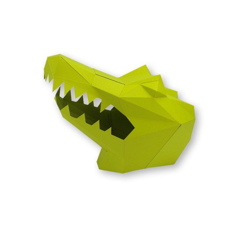 Masque en papier 3D