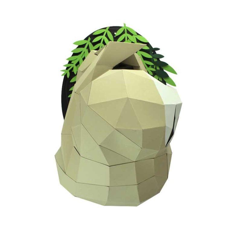 3D paper sloth