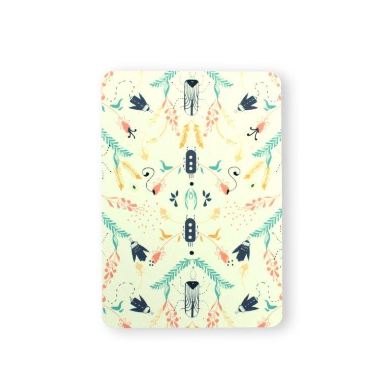 Bug pattern postcard