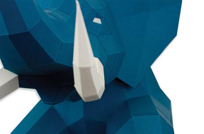 3D paper elephant 5