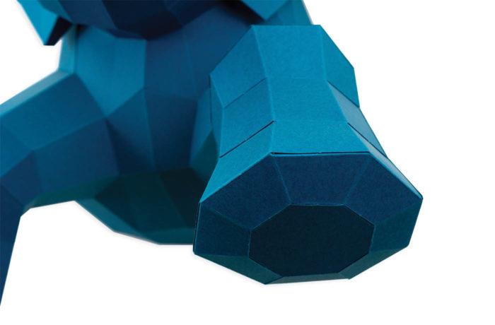 3D paper elephant 7