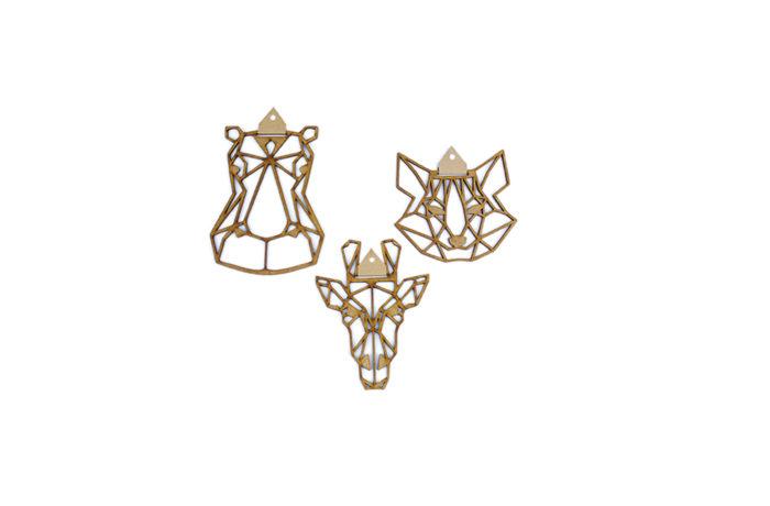 Mini têtes géométriques 2 3760271838371