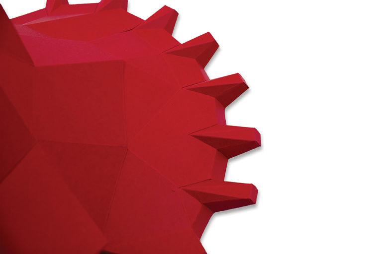 Tricératops en papier 3D 3 3760271837886
