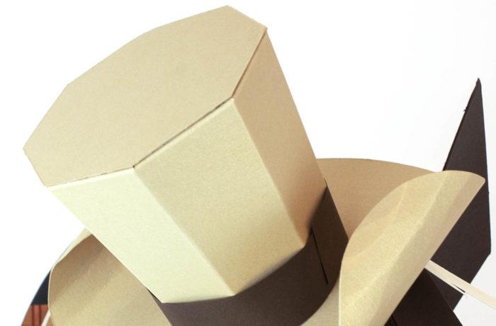 Cheval en papier 3D 6 3760271838593